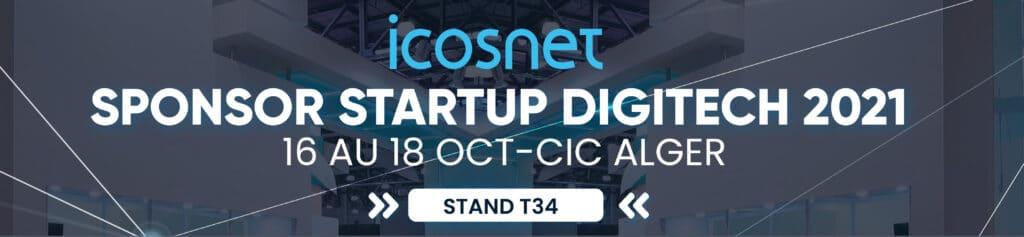 Web Rocket, startup de création de site web et application mobile, participe pour la première fois a DIGITECH, grâce a Icosnet!